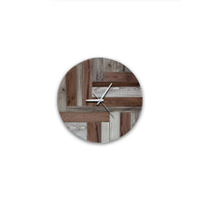 Bastina Reclaimed Wood Clock