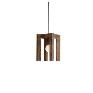 Caton Reclaimed Wood Single Light Pendant