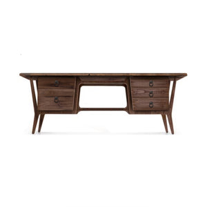 Adalicia Reclaimed Wood Desk