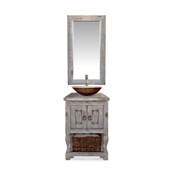 Avery Reclaimed Wood Bathroom Vanity