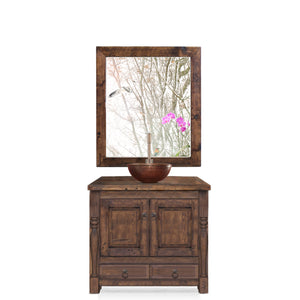 Adelyn Reclaimed Wood Bathroom Vanity