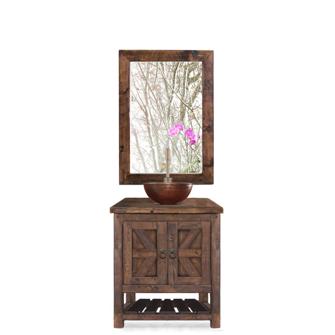 Dawn Reclaimed Wood Bathroom Vanity