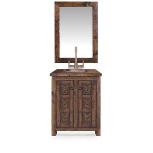 Aldrich Reclaimed Wood Bathroom Vanity