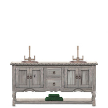 Tehmi Reclaimed Wood Bathroom Vanity