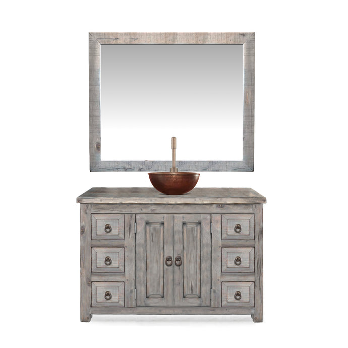 Leo Reclaimed Wood Bathroom Vanity