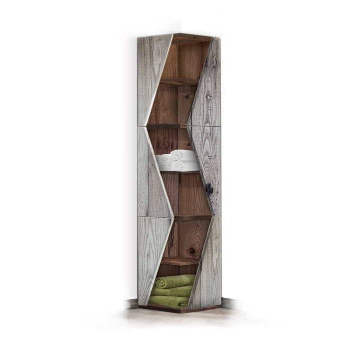 Anais Reclaimed Wood Linen Cabinet
