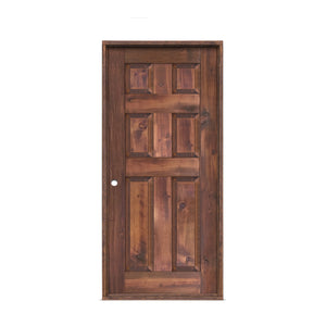 Patrice Reclaimed Wood Pre-Hung Door