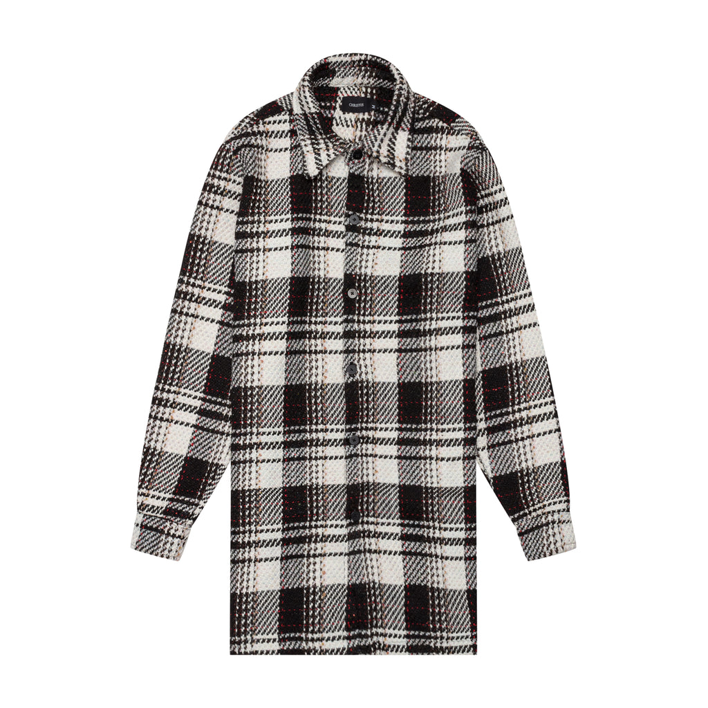 Christos Chapman Trench Coat Plaid on Well(un)known wellunknown.com