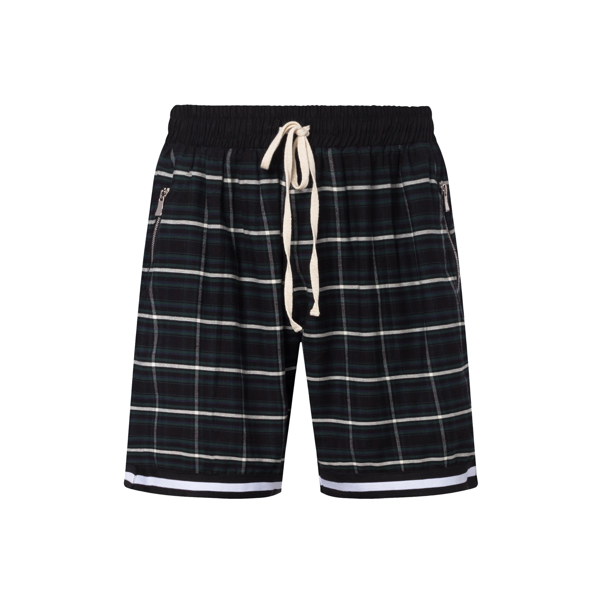 Christos Dinero Plaid Short on Well(un)known Wellunknown.com