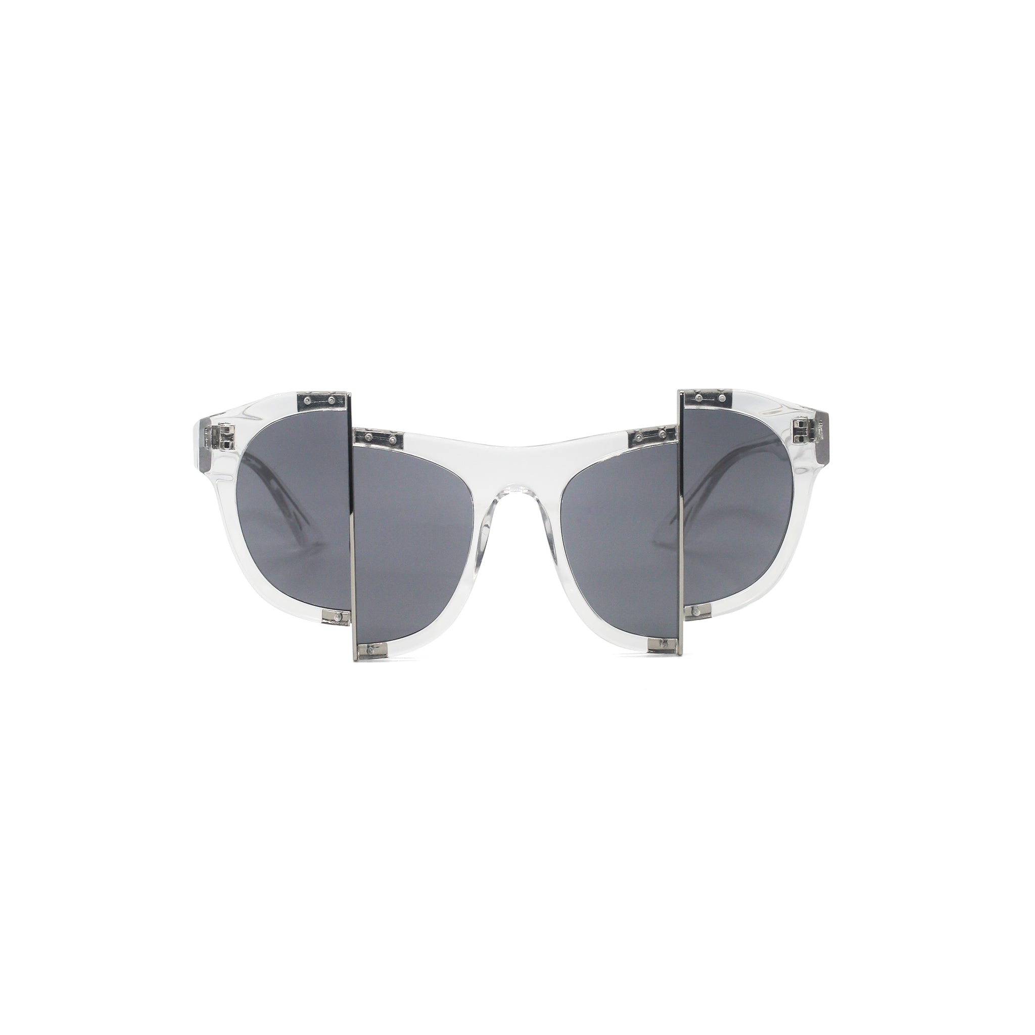 Percy Lau Clear Sunglasses on Well(un)known Available at wellunknown.com