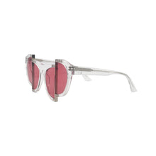 Percy Lau Axis Y Clear Rose Red