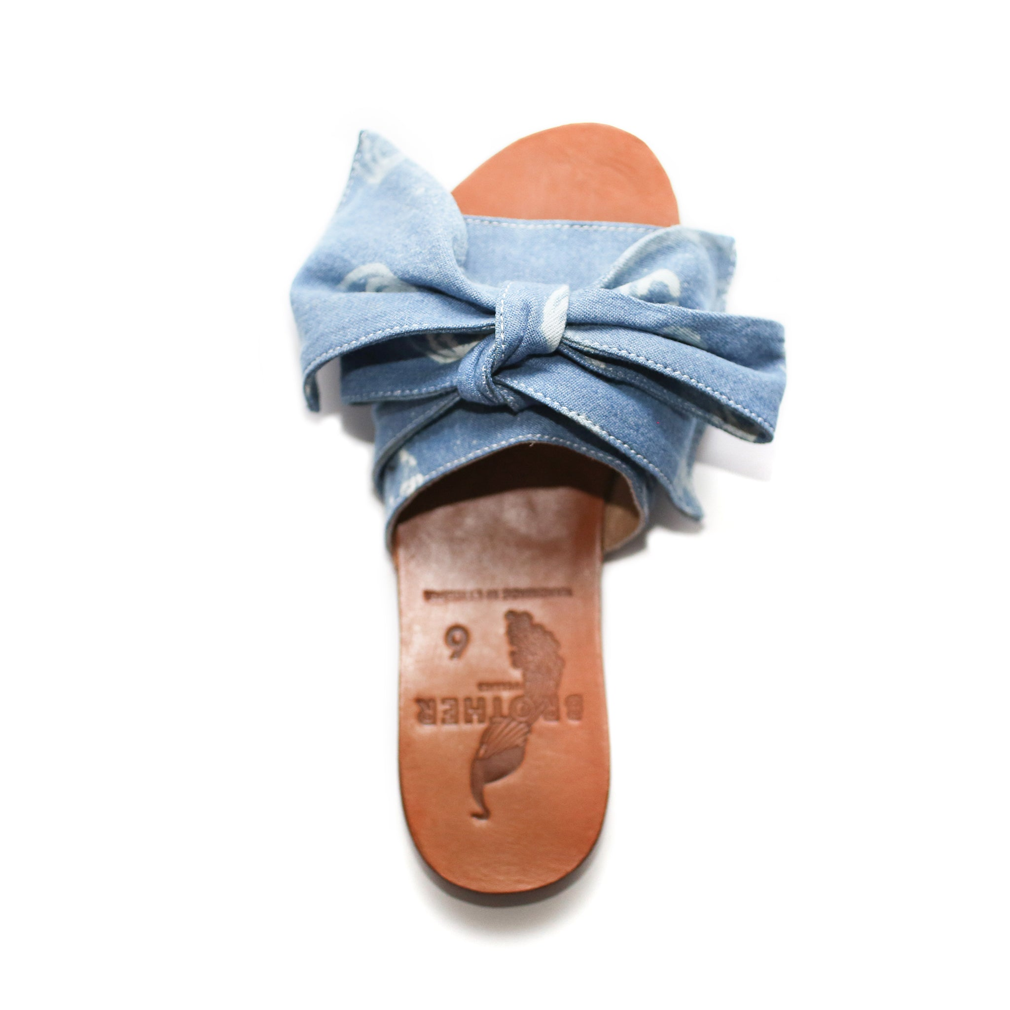 Brother Vellies Burkina Sandal Denim