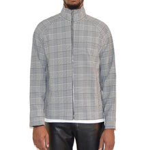 Christos Crosby Plaid Top / Light Jacket on Well(un)known wellunknown.com