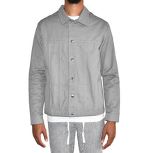Habits Studios Drill Overshirt Grey Jacket on Well(un)known Available on wellunknown.com