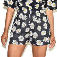 John Elliott Mesh Daisy Flower Shorts on Well(un)known Available at Wellunknown.com