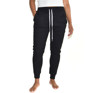 John Elliott Women's Escobar Black Sweatpants on Well(un)known. Available at wellunknown.com