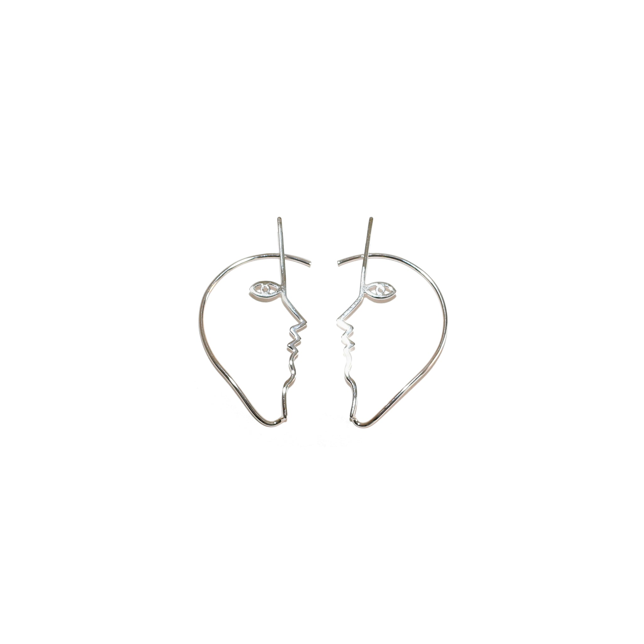 Dina Ear Cuffs Sterling Silver