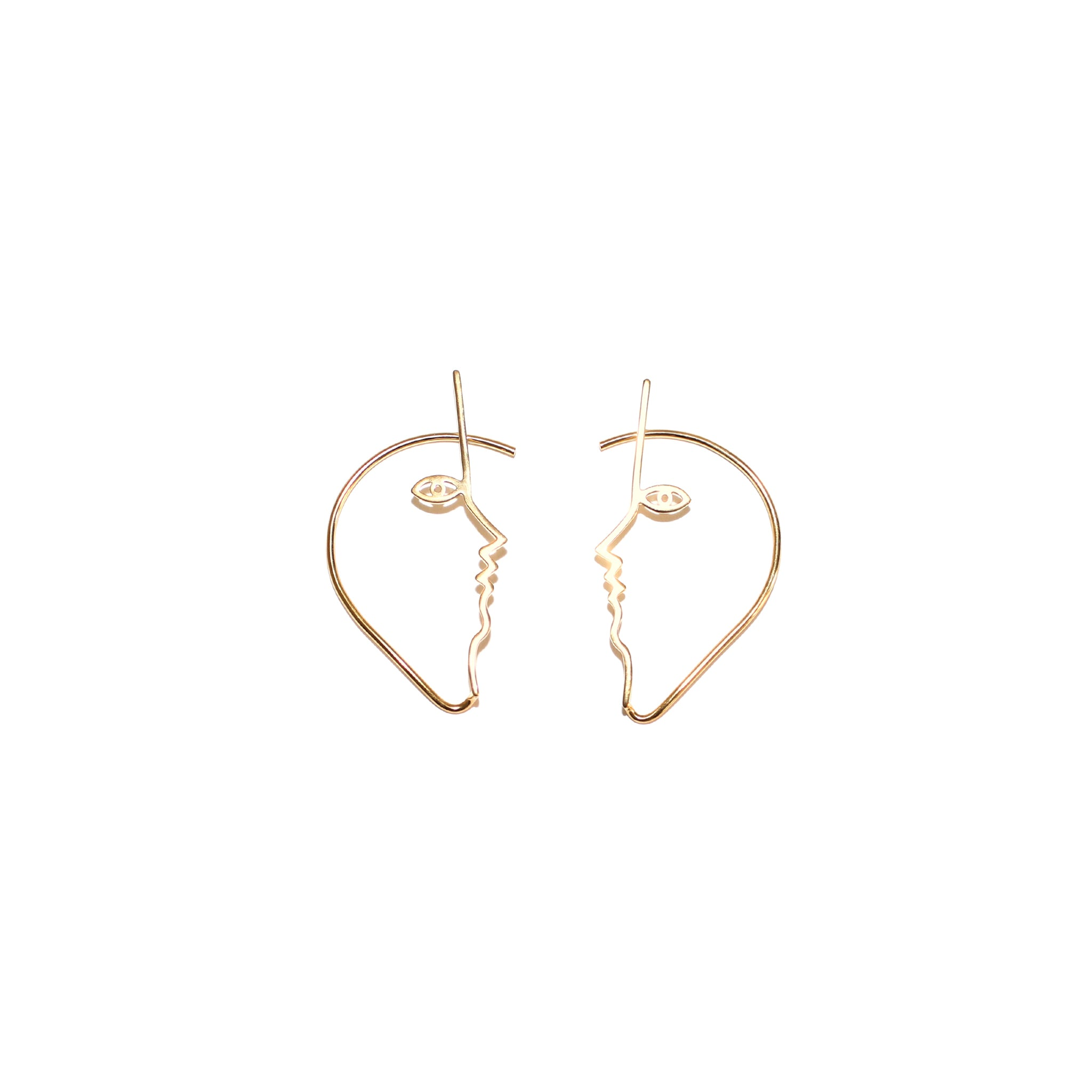 Mara Paris Dina Ear Cuffs Vermeil on Well(un)known Accessories available on Wellunknown.com