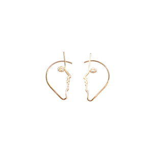 Mara Paris Dina Ear Cuffs Vermeil