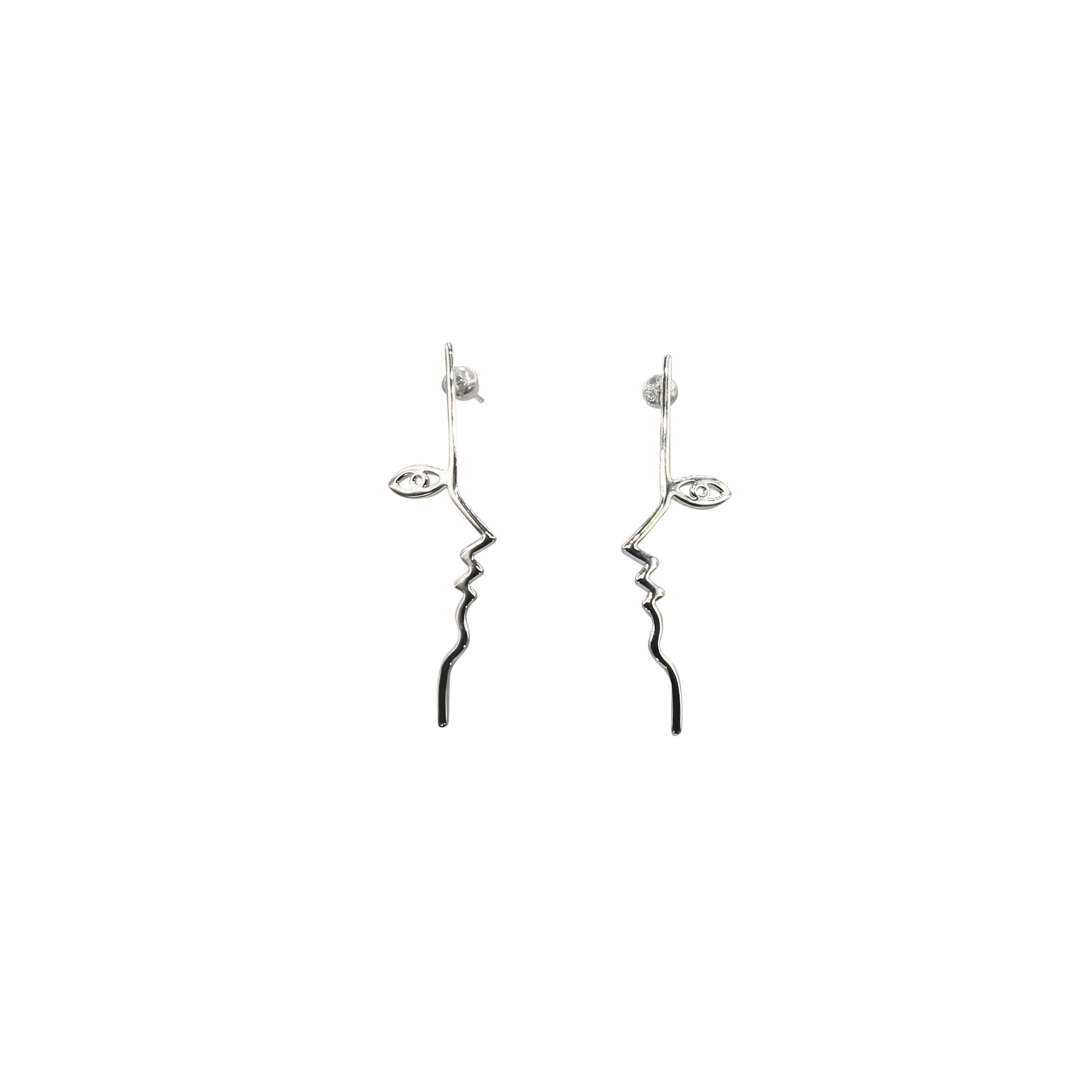 Mara Paris Dina Earrings Sterling Silver