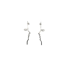 Dina Earrings Sterling Silver