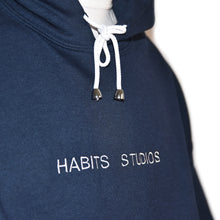 Habits Studios Essentials Blue Hoodie on Well(un)known Available on Wellunknown.com