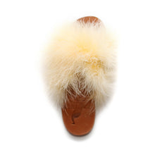 Brother Vellies Marabou Lamu Sandal Mango on Well(un)known Available at Wellunknown.com