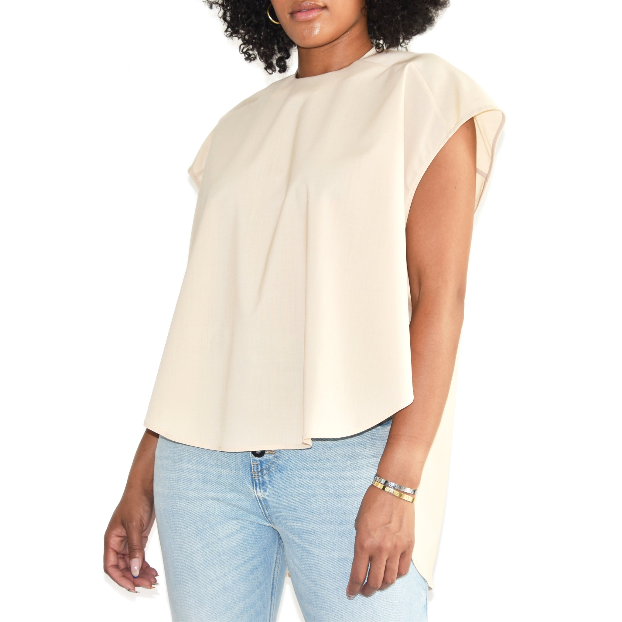 Short Sleeve Designer Women's Top A.W.A.K.E. on WELL(UN)KNOWN wellunknown.com