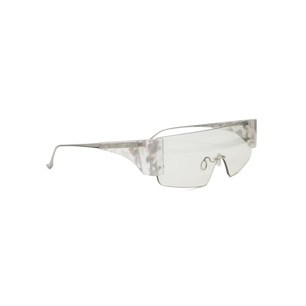 Percy Lau Ricostru Sunglasses in clear on Well(un)known Available at wellunknown.com