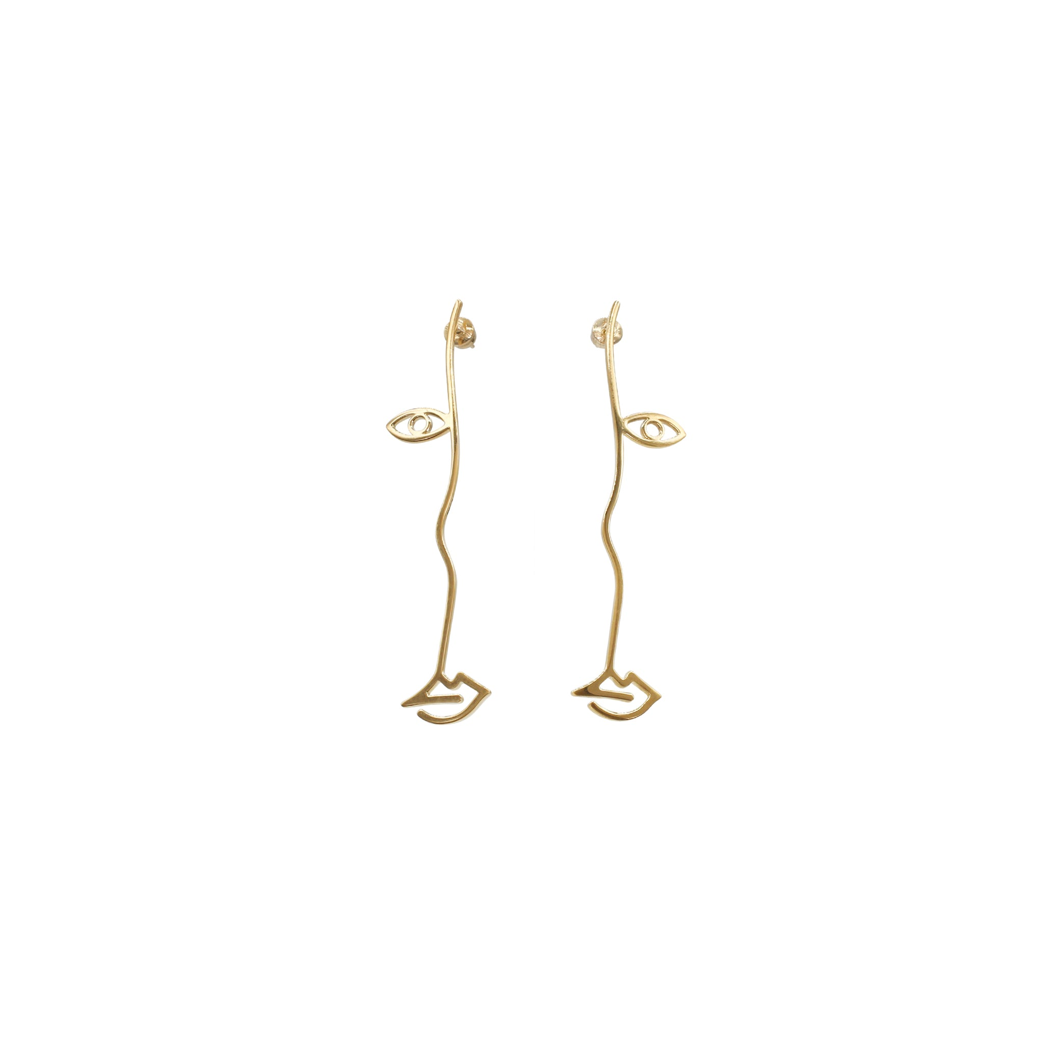 Mara Paris Surreal Earrings Vermeil