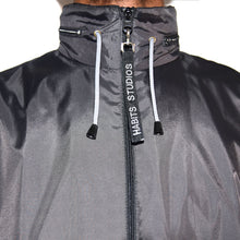 Habits Studios Tech Windbreaker Jacket in Black on Well(un)known Available at wellunknown.com