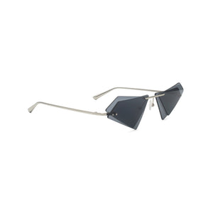 Percy Lau Xander Zhou Triangle Sunglasses in black on Well(un)known Available at wellunknown.com