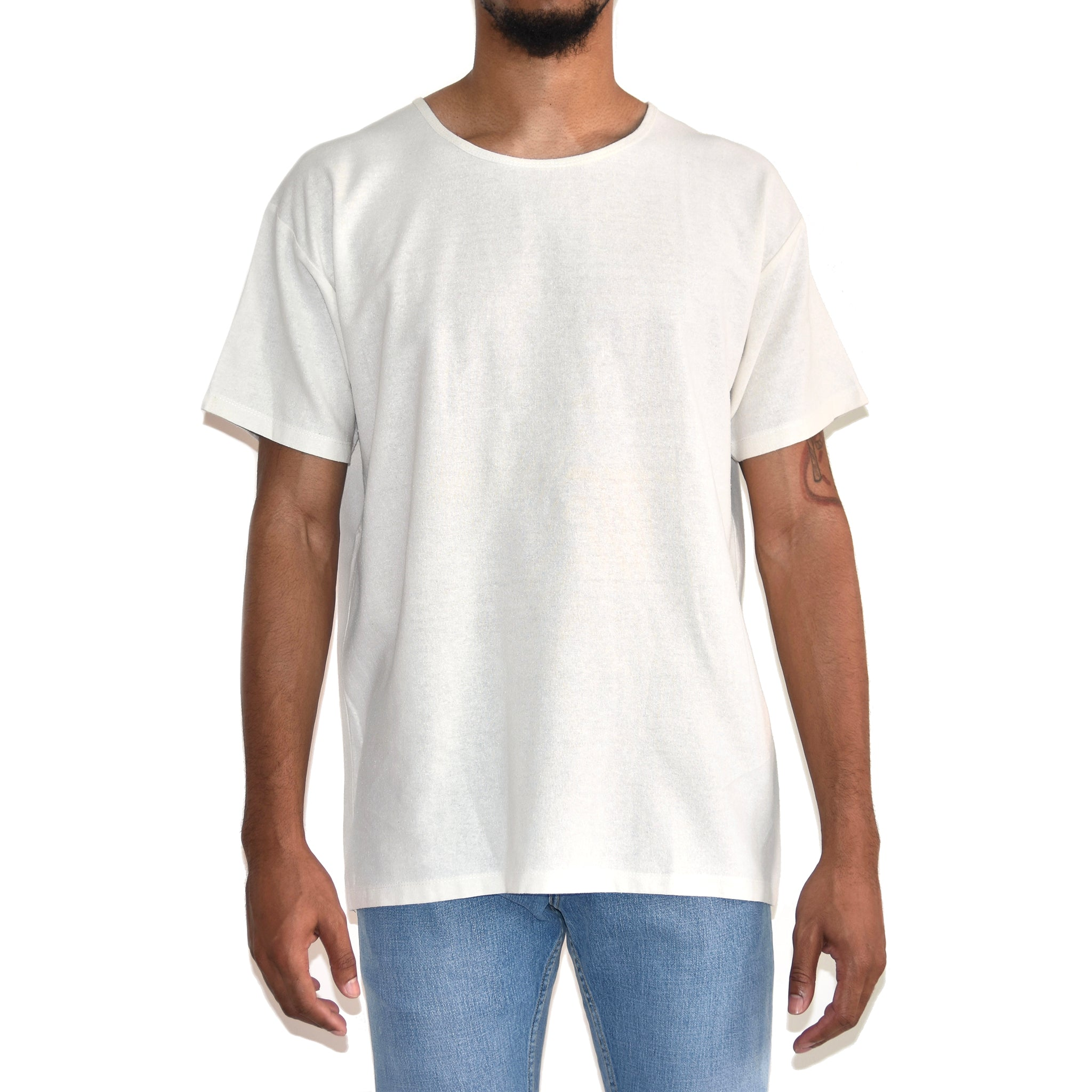 Personal Effects White Relaxed T-shirt on Well(un)known Available now on Wellunknown.com