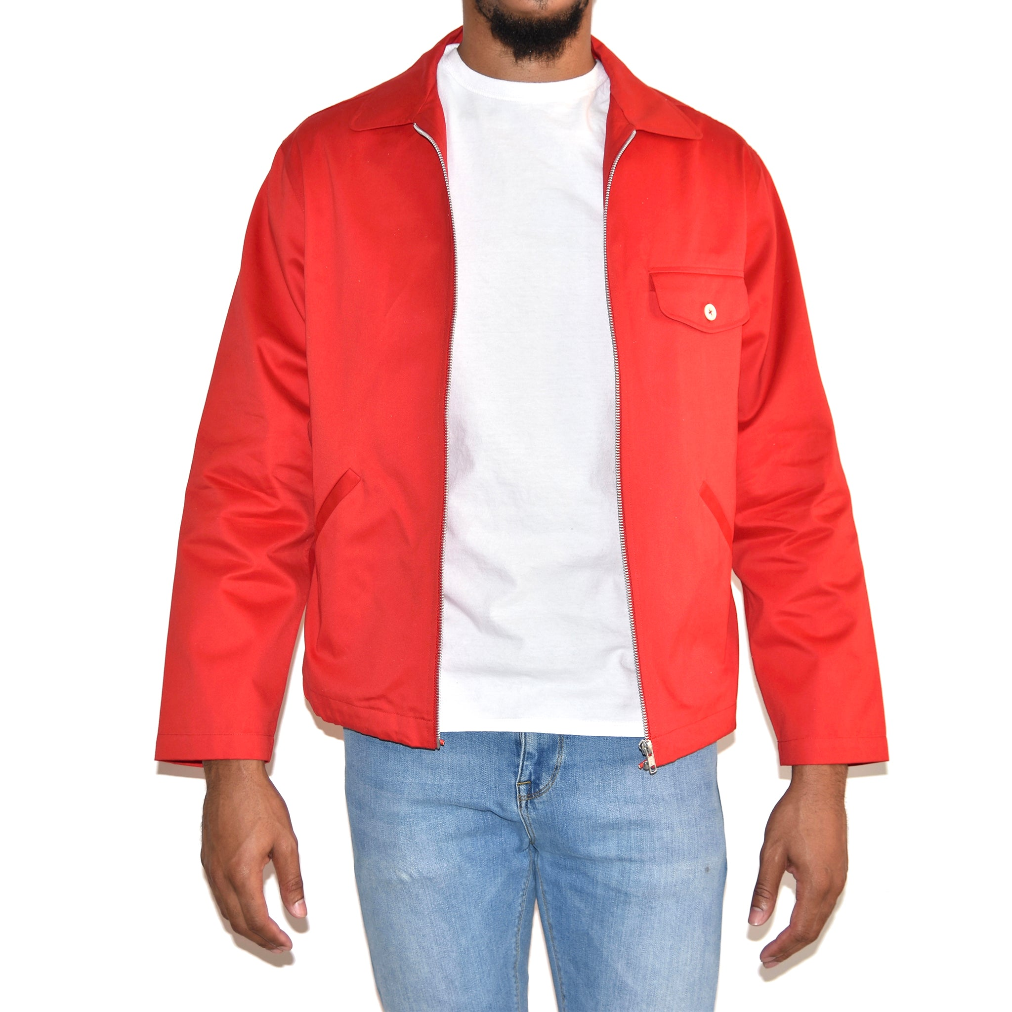 Personal Effects Men's Red Float Jacket on Well(un)known Available at Wellunknown.com