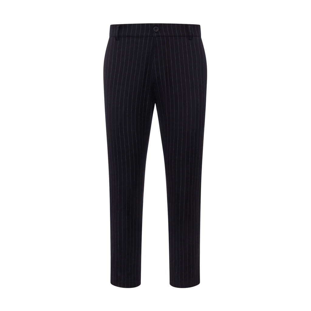 Christos Pinstripe Trousers on Well(un)known wellunknown.com