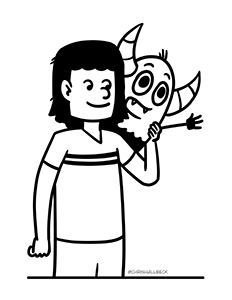 Pebble and Wren Coloring Page 2