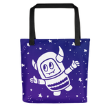 Pebble Among the Stars Tote bag