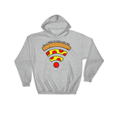 Pizza and WiFi Hoodie