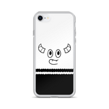 Pebble Happy Face iPhone Case