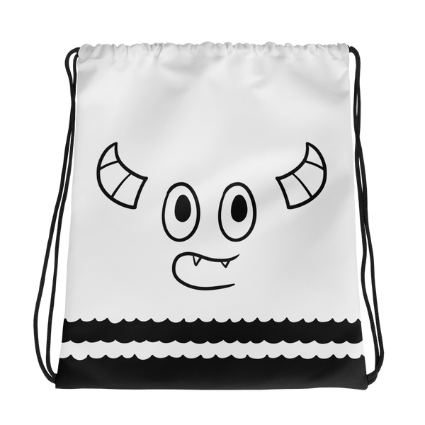 Pebble Faces Drawstring bag