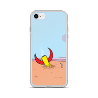 Biff Rocket Landing iPhone Case