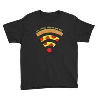 Pizza and WiFi Youth T-Shirt