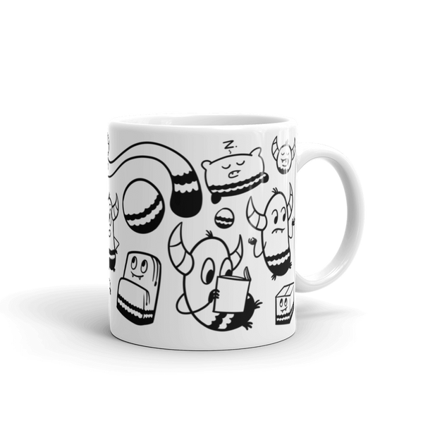 Pebble Party Mug