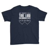 My Daddy is a Time Lord Youth T-Shirt