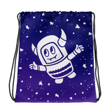 Pebble Among the Stars Drawstring bag