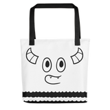 Pebble Faces Tote bag
