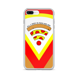 Pizza and WiFi iPhone Case