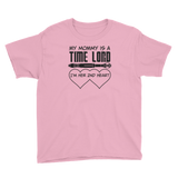 My Mommy is a Time Lord Youth T-Shirt