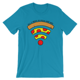 Pizza and WiFi T-Shirt