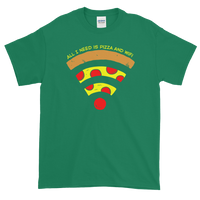 Pizza and WiFi Classic T-Shirt